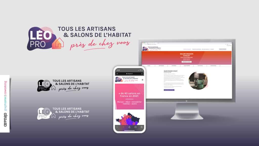 Léo Pro création du logo web