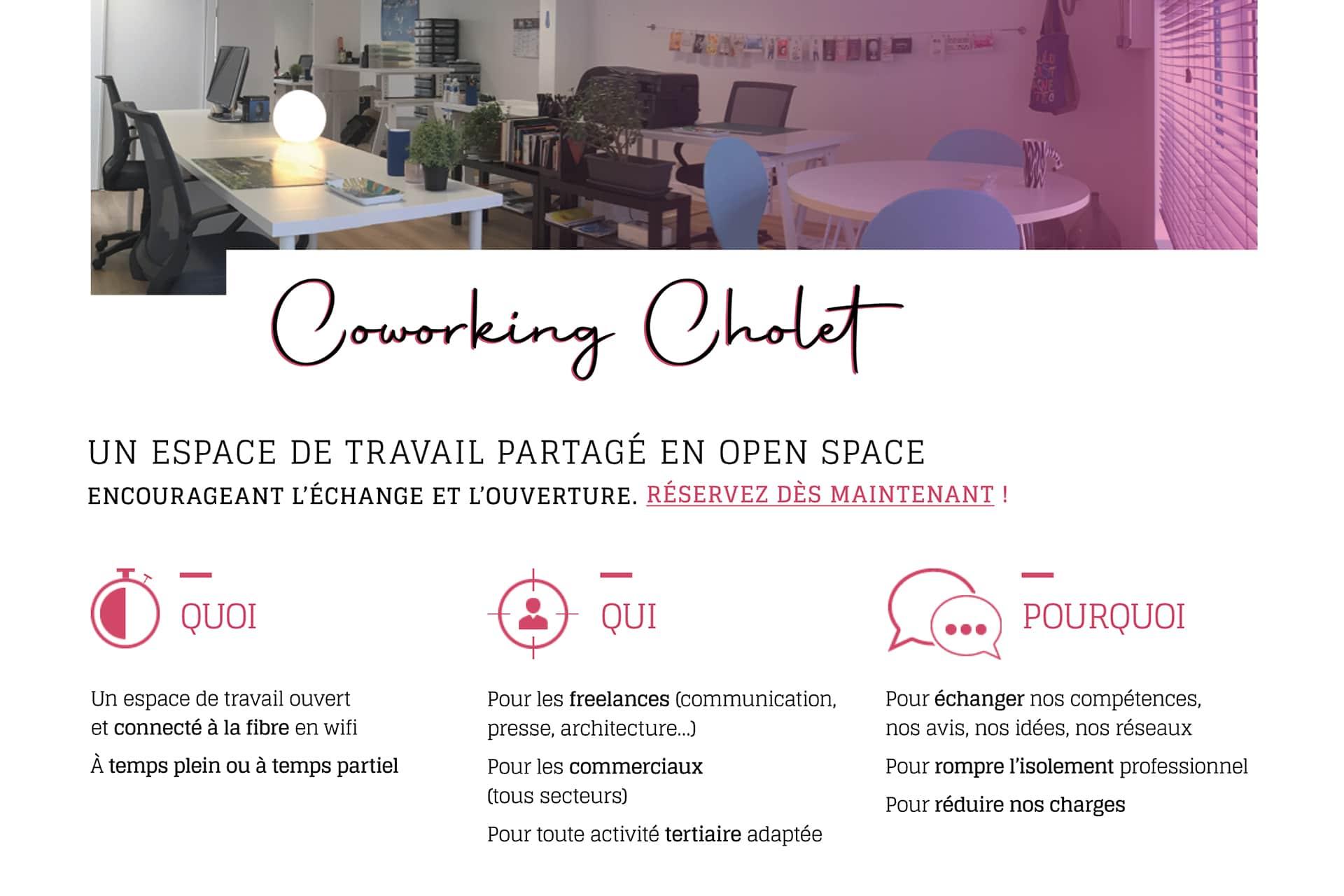 Animation de présentation de coworking Cholet