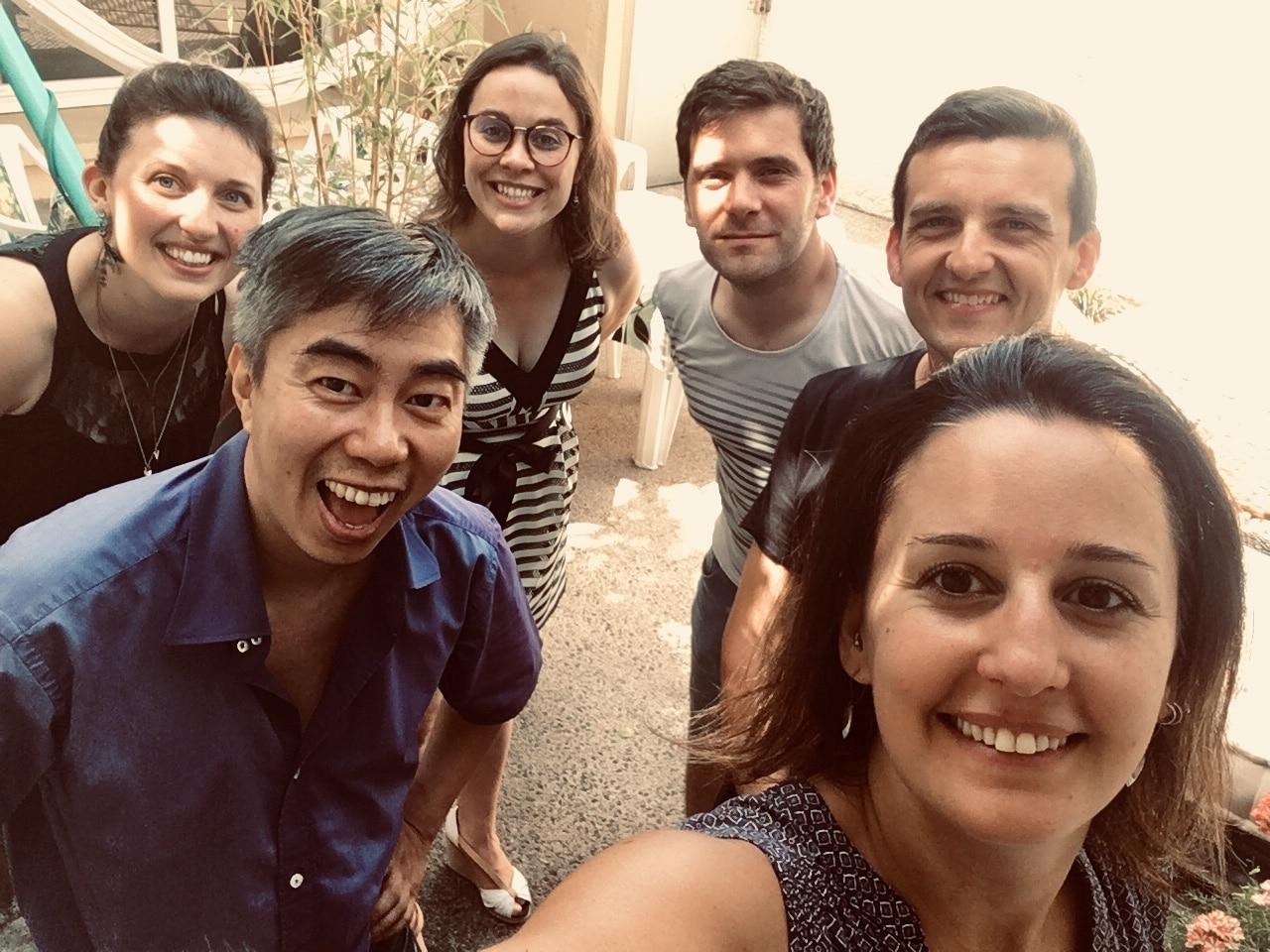 Barbecue de l'été 2019 au coworking Cholet