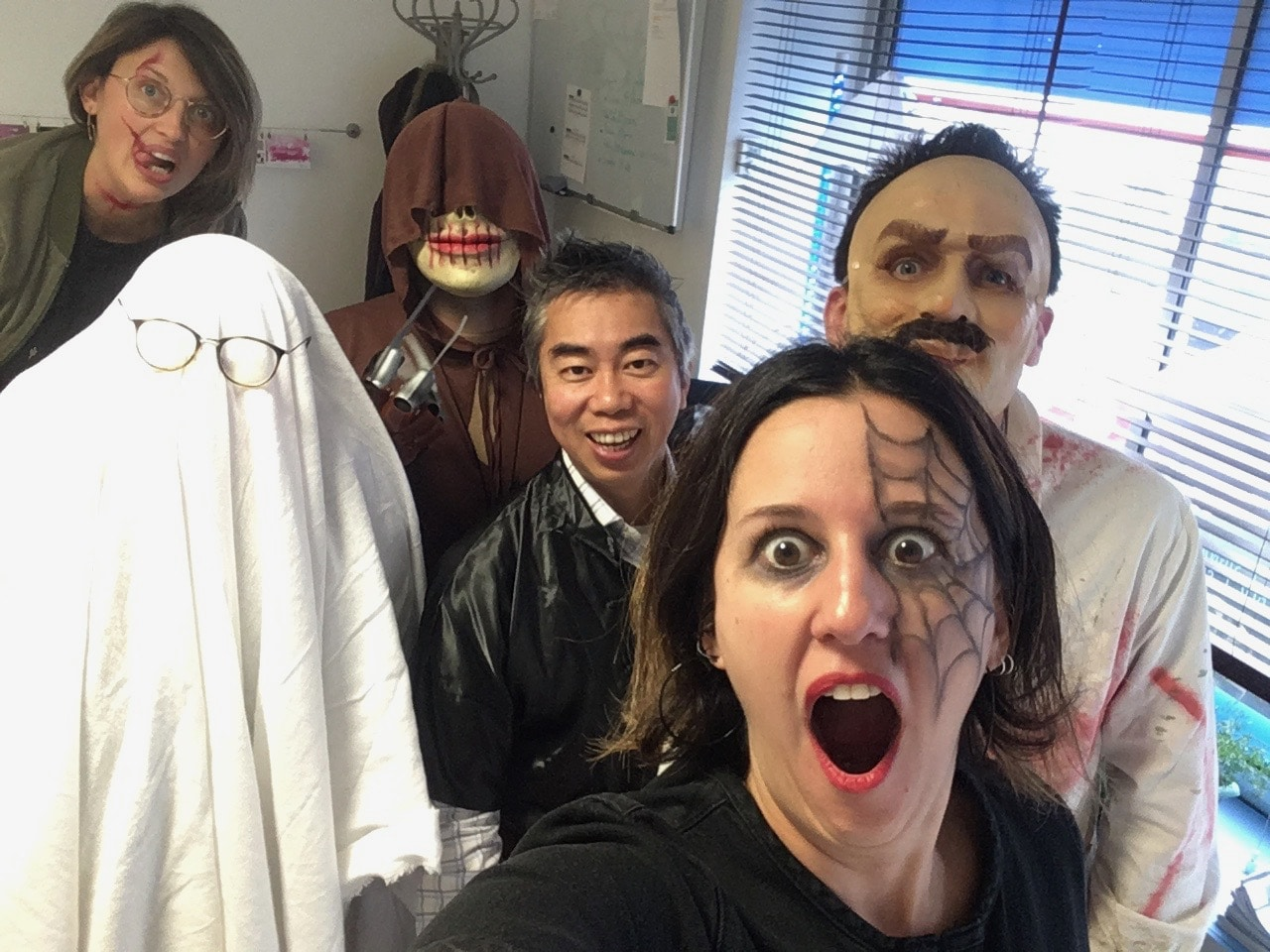 La journée déguiée d'hallowwen de Coworking Cholet
