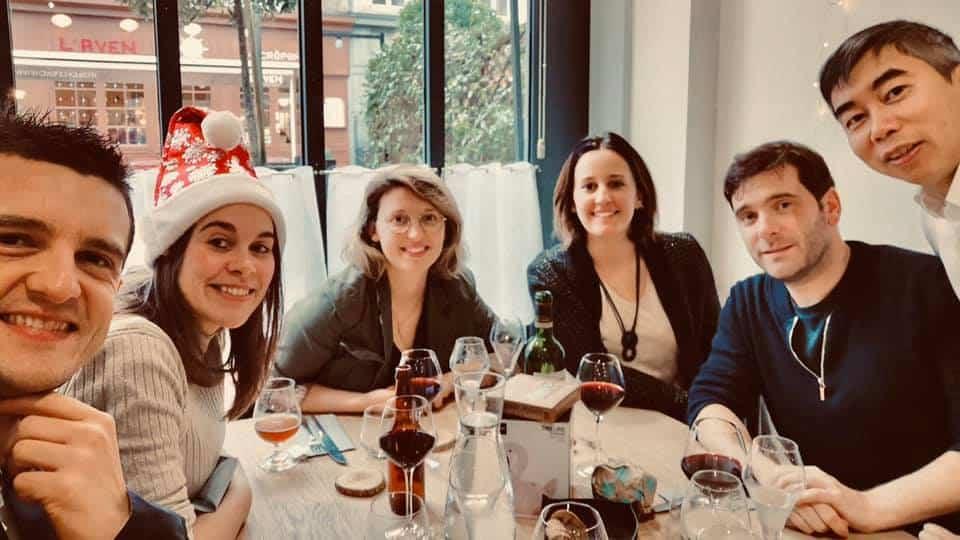 Déjeuner de Noël au restaurant de Coworking Cholet