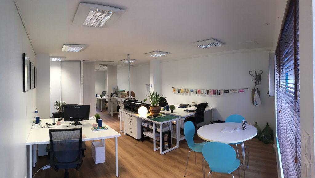L'open space du coworking Cholet