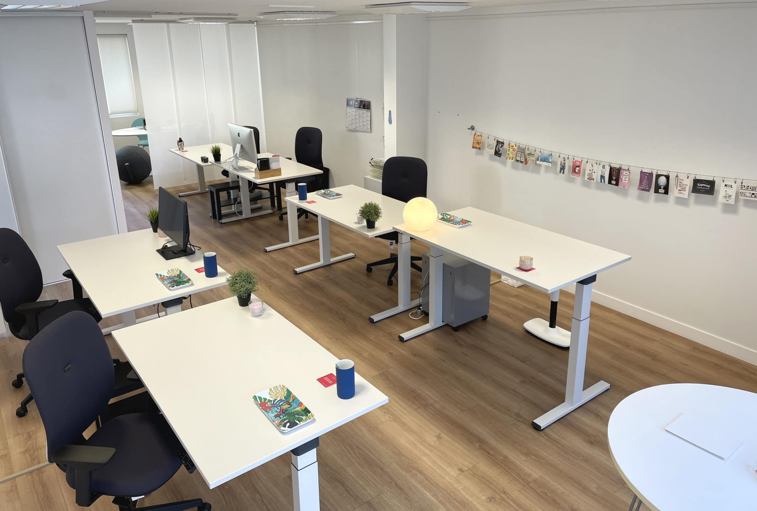Coworking Cholet Arengo : open space 2021